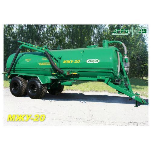 Машина для внесення рідких органічних добрив ( бочка для транспортування гною ) МЖУ - 20 | t-i-t.com.ua