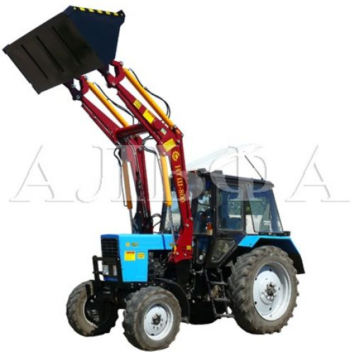 "Навантажувач швидкозйомний тракторний НТШ-800 МТЗ з джойстиком ""FULL"" | t-i-t.com.ua"