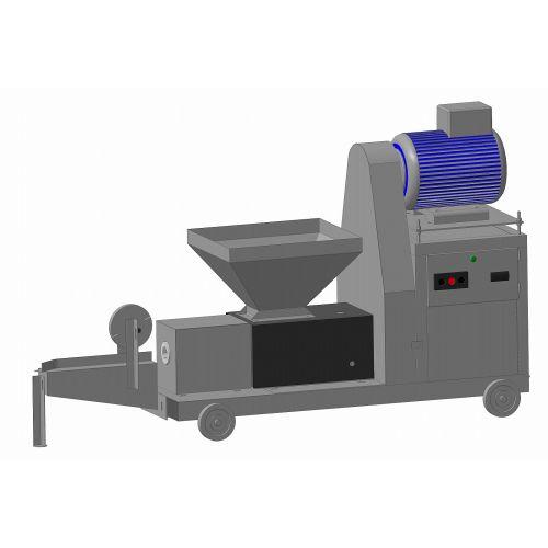 Прес-екструдер ПШ-190 (виробництво брикетів) | t-i-t.com.ua