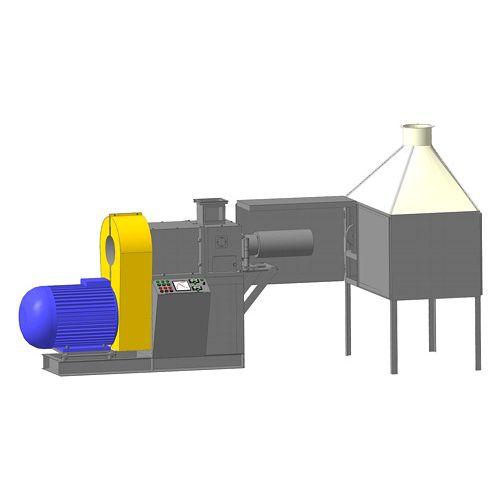 Прес-екструдер ПШ-395 (виробництво брикетів) | t-i-t.com.ua