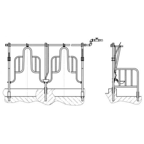 Стійлове обладнання для прив'язного утримання ОС-25   t-i-t.com.ua