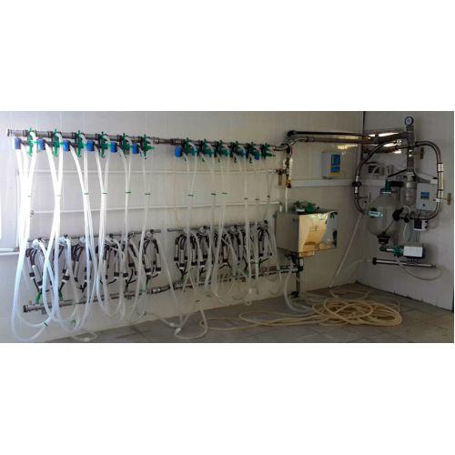 Установка для доїння в молокопровід УДМ-100 (з оцинкованою трубою) | t-i-t.com.ua