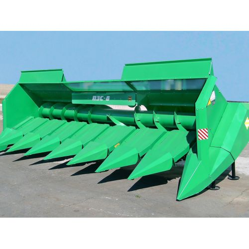 Жниварка для збирання соняшнику до комбайнів КЗС-1218 з універсальною похилою камерою ПЗС-8-15   t-i-t.com.ua