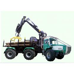 Форвардер на базі спеціалізованого трактора ХТА-200 Слобожанець  Д-260.4 210 к.с.