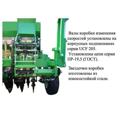 Сіялка зернотукова СЗМ-4У (причіпна) НІКА-4 | t-i-t.com.ua