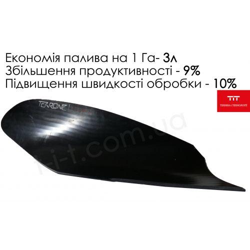 Відвал композитний Текрон для плуга ПЛН (гвинтовий) | t-i-t.com.ua
