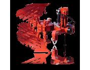 Плуг ALPLER 4-х корпусний (навісний, оборотний, 3+1,пір'євидний відвал) | t-i-t.com.ua