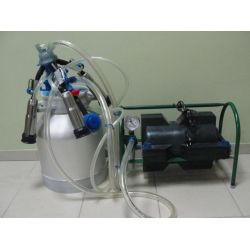 Доїльний апарат Імпульс ПБК-4 (1-3 корів, нержавіючі стакани)