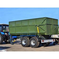 Тракторний самоскидний напiвпричіп ТСП-14