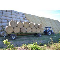 Причіп-платформа для перевезення рулонів та тюків ПП-9/2  (вантажопідйомність 9 тон)