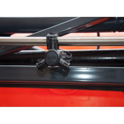 Обприскувач напівпричіпний штанговий ОПШ-3524 (АСУ) з міксером з шинами 9,5/48 , 3-х позиційна головка | t-i-t.com.ua