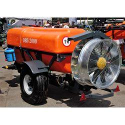 Обприскувач вентиляторний напівпричепний ОВП-2000 5мПа