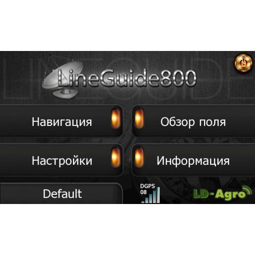 LineGuide 800 з приймачем GeoX4   t-i-t.com.ua