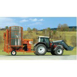 Мобільна зерносушарка, версія з електродвигуном PRT 75 / ME (Biogas)
