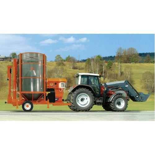 Мобільна зерносушарка, версія з електродвигуном PRT 75 / ME (Biogas) | t-i-t.com.ua