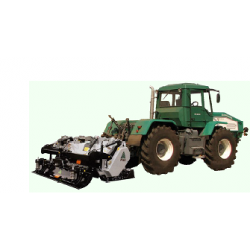 Трактор ХТА-200 Слобожанець  Д-260.4 210 к.с. з каменеподрібнювальним обладнанням STC/R 200   t-i-t.com.ua