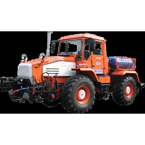 Мотовоз ММТ-2 на основі трактора ХТА-200 (колісно-рейковий тягач, Д-260.4, 210 к.с.) | t-i-t.com.ua