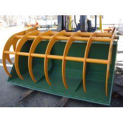 Ковш силосний, ширина  2400 мм, об'єм 2,6 м3