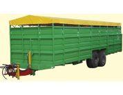 Трейлер скотовіз ТС-9 (для транспортування великої рогатої худоби) | t-i-t.com.ua