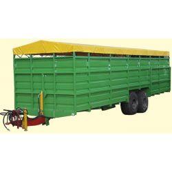 Трейлер скотовіз ТС-9 (для транспортування великої рогатої худоби)