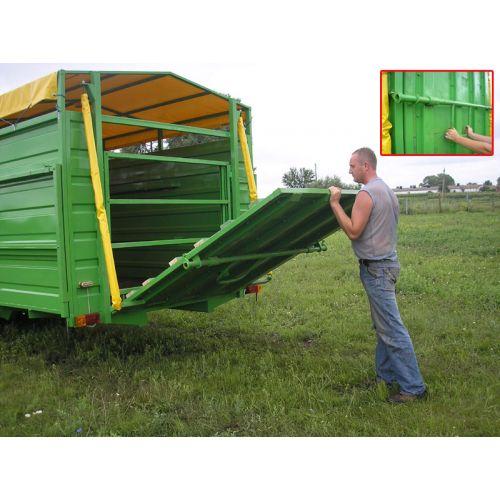 Трейлер скотовіз ТС-9 (для транспортування великої рогатої худоби)   t-i-t.com.ua