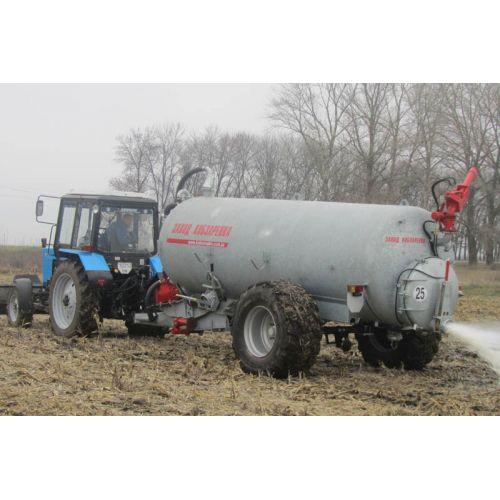 Вакуумний напівпричіп-цистерна ВНЦ-6/1 (для води і рідких органічних добрив, ємність 6 м.куб.) | t-i-t.com.ua