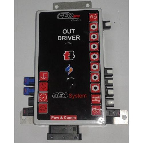 Комп'ютер Geoline-250  (система автоматичного керування для обприскувачів, 3 секції)   t-i-t.com.ua