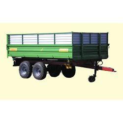 Тракторний самоскидний причіп ТСП-10 з односторонім заднім розвантаженням, до МТЗ-82