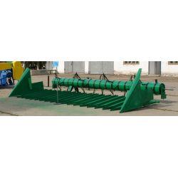 Пристосування для збирання соняшнику ПС-6,1А-07 з жаткою типу 20 до зернозбиральних комбайнів Нью Холанд ТХ65 плюс, ТХ66, ТХ68, SХ-84