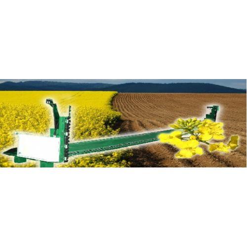 Пристосування для збирання ріпаку ПЗР-6,6 з жаткою С-660 до зернозбиральних комбайнів Мega, Меdion, Дніпро-350 | t-i-t.com.ua