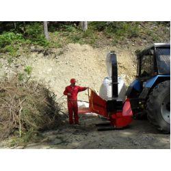 Деревоподрібнююча машина DP 660 T (навісна)