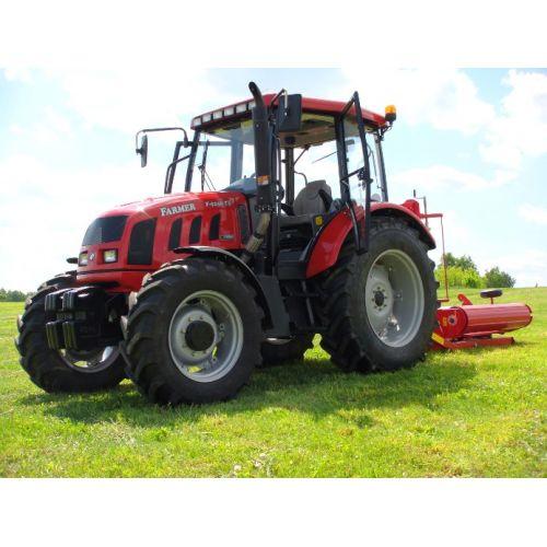 Трактор Farmer F-9258 TE (двигун John Deere, 86 к.с.)   t-i-t.com.ua