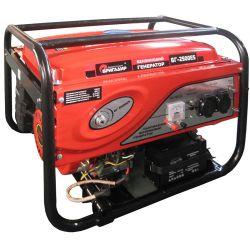 Бензиновий генератор Бригадир Standart БГ-2500ES, 2.5 кВт эл.с.
