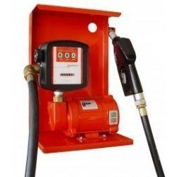 Модуль для заправки, перекачування бензину, гасу, ДП з лічильником SAG 600 + MG80V, 12В, 45-50 л/хв
