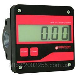Електронний лічильник MGE 110 для дизельного палива, масла, 5-110 л/хв, +/-0,5 %, Іспанія