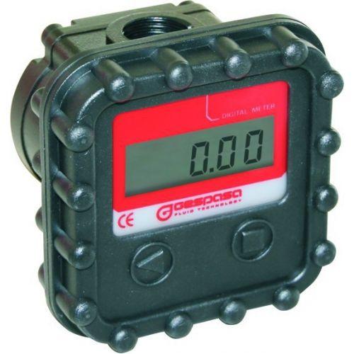 Електронний лічильник MGE 40 для дизельного палива, масла, 2-40 л/хв, +/-1 %, Іспанія | t-i-t.com.ua