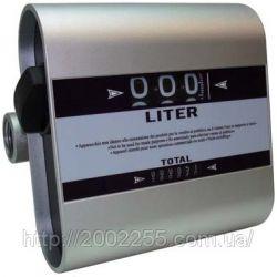 Лічильник витрати дизельного палива, масла Tech- Flow 3C, 20-120 л/хв