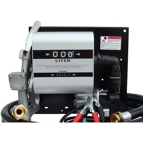 Паливороздавальна колонка заправки дизельного палива з витратоміром WALL TECH 60, 24В, 60 л/хв | t-i-t.com.ua