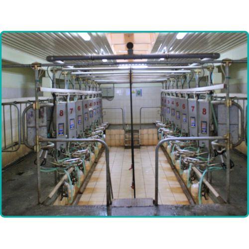 Стаціонарна доїльна установка | t-i-t.com.ua