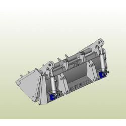 Ківш щелепний ПБМ-1200-19