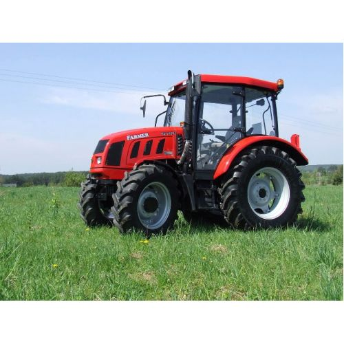 Трактор Farmer F4-7258 (двигун John Deere, 66 к.с.) | t-i-t.com.ua