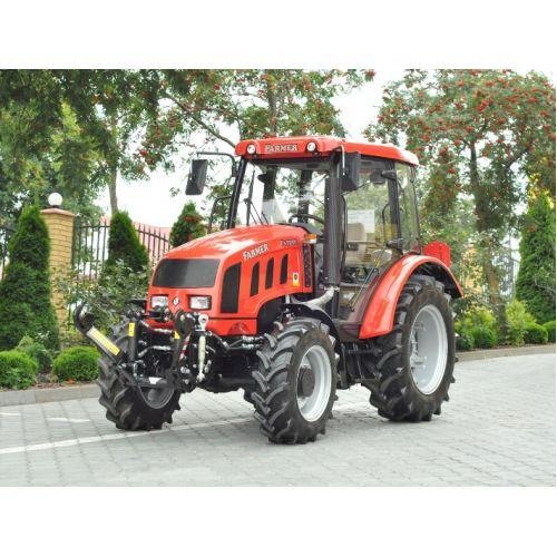 Трактор Farmer F3-6258 (двигун John Deere 61 к.с.) | t-i-t.com.ua