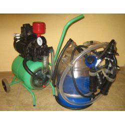 Доїльний апарат Гамак-Ротор (від 1 до 8 корів, гума Д.041, ємність полікарбонат, 22 л.)