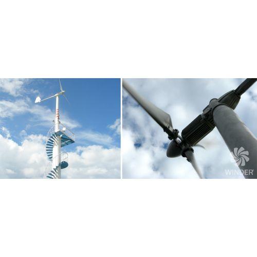 Вітрогенератор 6 кВт (Т60) | t-i-t.com.ua