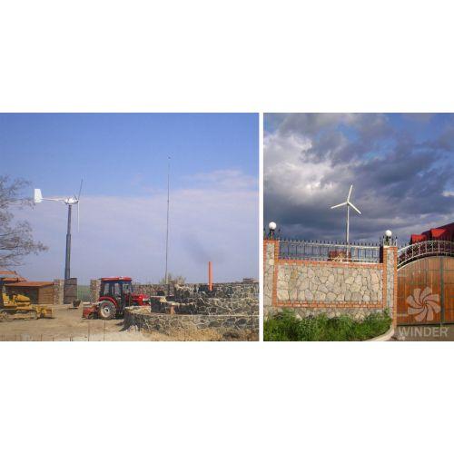 Вітрогенератор 12 кВт (Т120) | t-i-t.com.ua