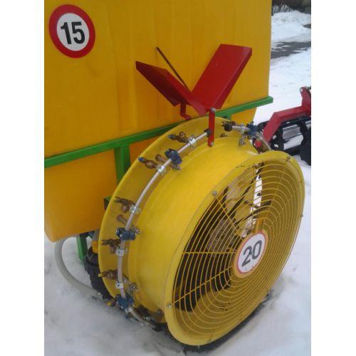 Обприскувач садовий навісний вентиляторний 400л | t-i-t.com.ua