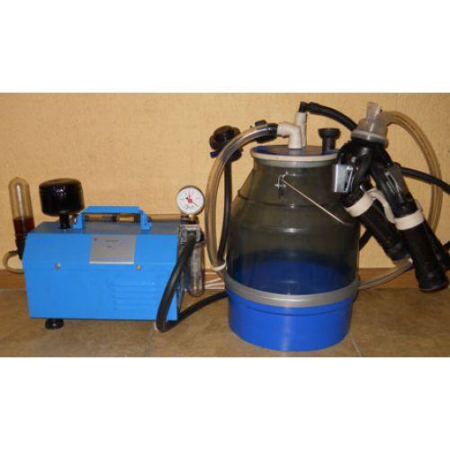 Доїльний апарат Імпульс-Ротор (від 1 до 12 кіз, прокладки силікон, відро полікарбонат, 22 л.) | t-i-t.com.ua