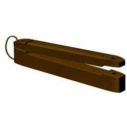 Ізолятор для стрічок типу «товста дошка» (25 шт/пакет)