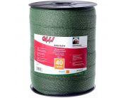 Зелена багатожильна стрічка Shockteq 20мм/200м | t-i-t.com.ua