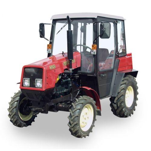 Трактор МТЗ-320 Беларус (двигун - LOMBARDINI LDW1603 / B3, 37.5 к.с.) | t-i-t.com.ua